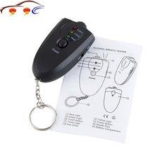 New Professional Styling Portable Keychain Design LED Alcohol Breath Tester Breathalyzer Analyzer Diagnostic Tool Hot
