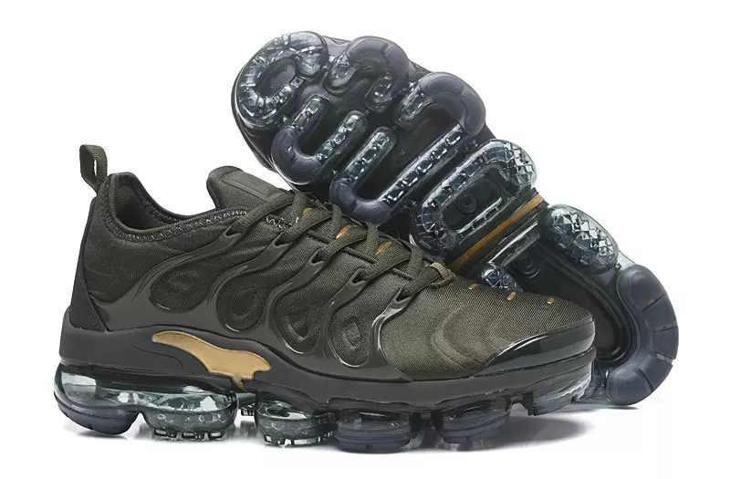 85bc5d8c5d1 ... 2018 Vapormax Tn Plus Vm Barely Grey In Metallic Women Men Running  Sports Designer Shoes For
