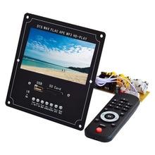 CLAITE 4.3 LCD DTS 오디오 비디오 디코더 보드 무손실 블루투스 수신기 MP4/MP5 비디오 APE/WMA/MP3 디코딩 지원 FM