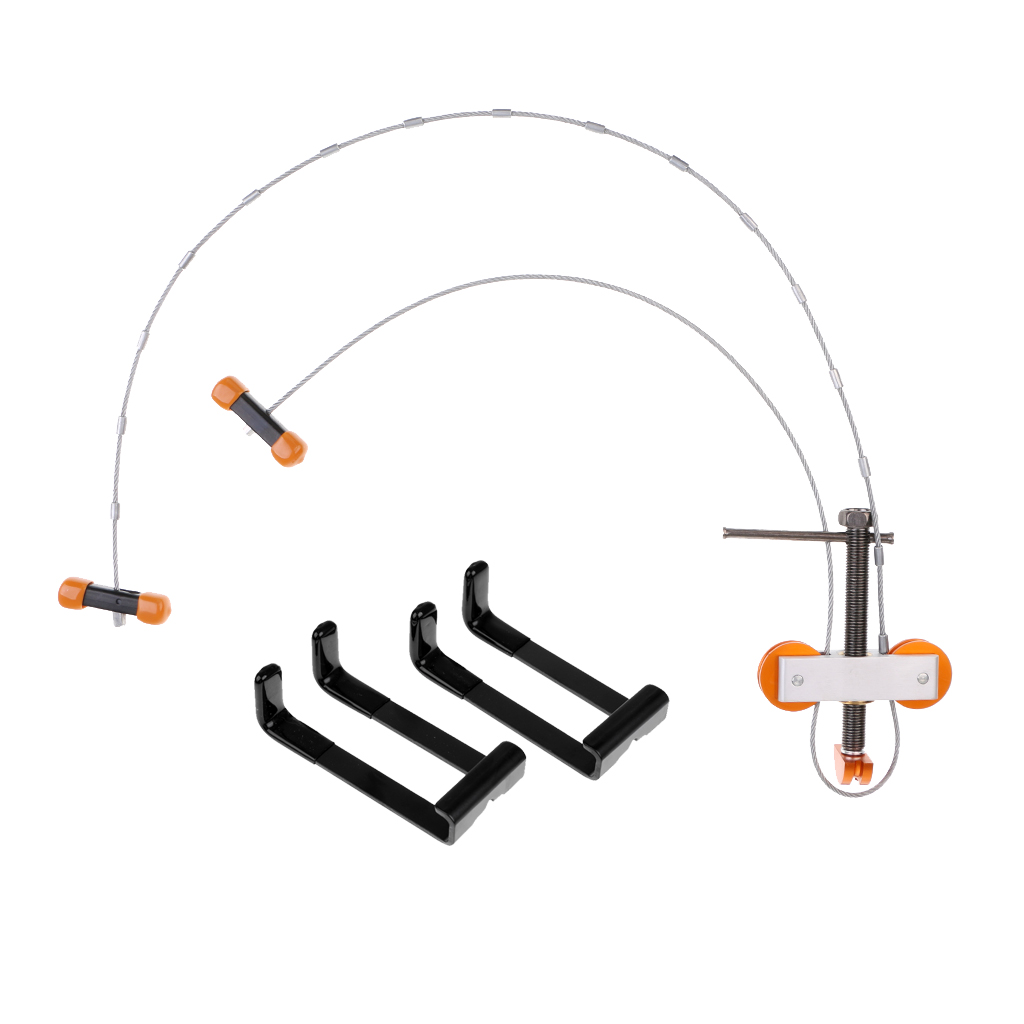 Tir à l'arc extérieur chasse à l'arc composé presse et Quad Limb L support accessoires