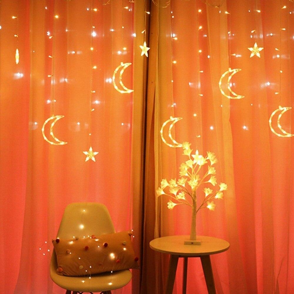 Fairy Lights Wedding Reception Ideas: Led Ramadan Fairy Starry Lights Outdoor 220v Plug Garland
