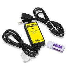 Автомобильный Mp3Aux Usb аудио кабель аудио цифровой диск коробка для Ma-zda 3/Cx7/Mx5 Cx-7