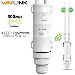 Wavlink Relè Senza Fili Ripetitore 3in1 WN570HN2 Wifi Extender di Alta Potenza Esterna Wifi Repeater 2.4G/300Mbs Senza Fili Wifi Router