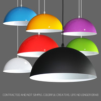Modern minimalist creative chandelier lampshade restaurant cafe dance room office cafes personalized single head chandelier