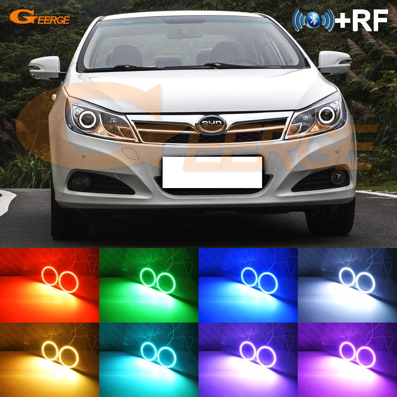 For BYD Surui 2012 2013 2014 2015 Excellent RF Bluetooth Controller Multi Color Ultra bright RGB