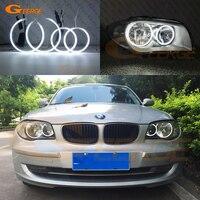 For BMW 1 Series E81 E82 E87 E88 Halogen Headlight Excellent Ultra bright illumination CCFL Angel Eyes kit Halo Ring