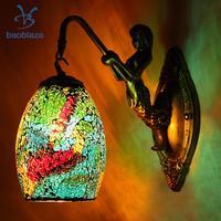 Retro Vintage Wall Mounted Lamp Light Shades Wall Sconce Lampshade E27