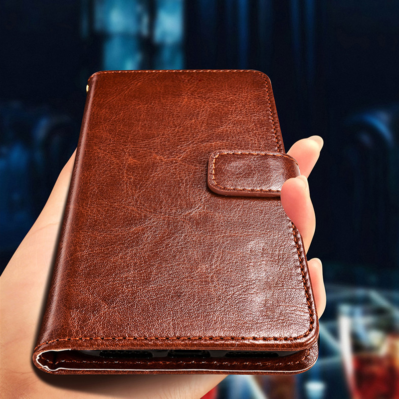 AXD Flip Leather Case For Huawei P Smart Enjoy 7S 5 65 39 39 Fundas For P Smart 2019 6 21 psmart Fundas Wallet Stand Phone Case in Flip Cases from Cellphones amp Telecommunications