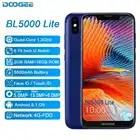 DOOGEE BL5500 Lite 2 GB 16 GB teléfono inteligente 6,19 MTK6739 Quad Core Android 8,1 13.0MP 5500 mAh huella dactilar Dual SIM del teléfono móvil - 2