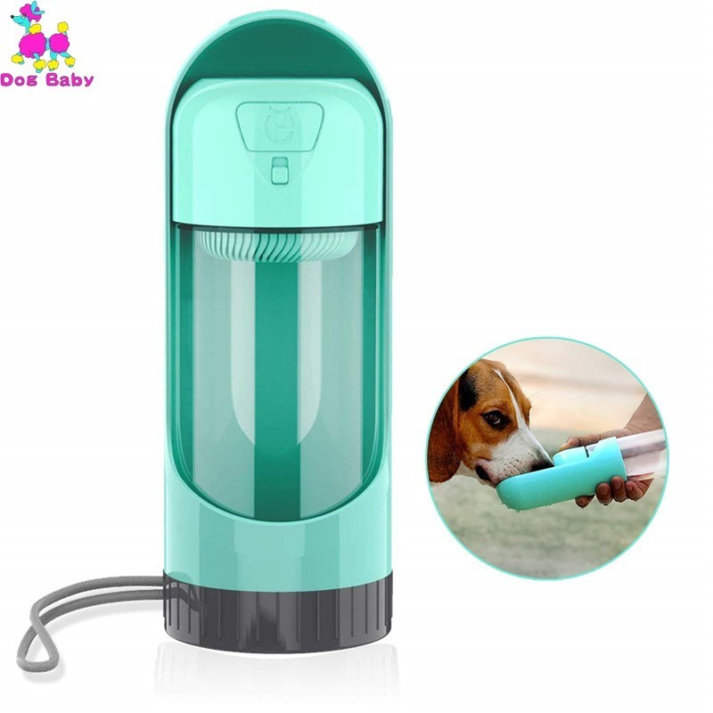 Portable Pet Dog Water Bottle Dispenser Travel Dog Bowl Cups Dogs Cats Feeding Water Outdoor Walking For Pets Drinkfles Hond 23
