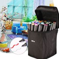 36pcs Color Twin Tip Marker Pen For Touch Sketch Art Painting Alcohol Oily Double Head High End Quick Drying Waterproof Marker