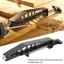 Woodworking Pocket Hole Joints Oblique Hole Fixing Workbench Wood Clamp Slant Hole Accessories