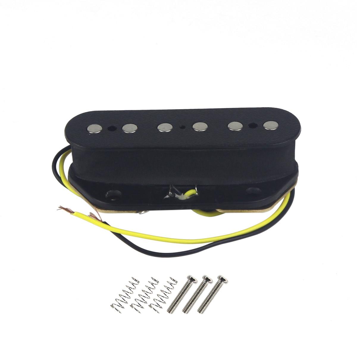 buy new tele bridge pickup electric guitar pickup ceramic magnet for tele style. Black Bedroom Furniture Sets. Home Design Ideas