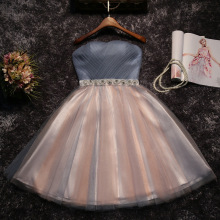 Новинка, женское Короткое платье в стиле бохо, трапециевидный пояс, расшитый бисером, вечерние платья