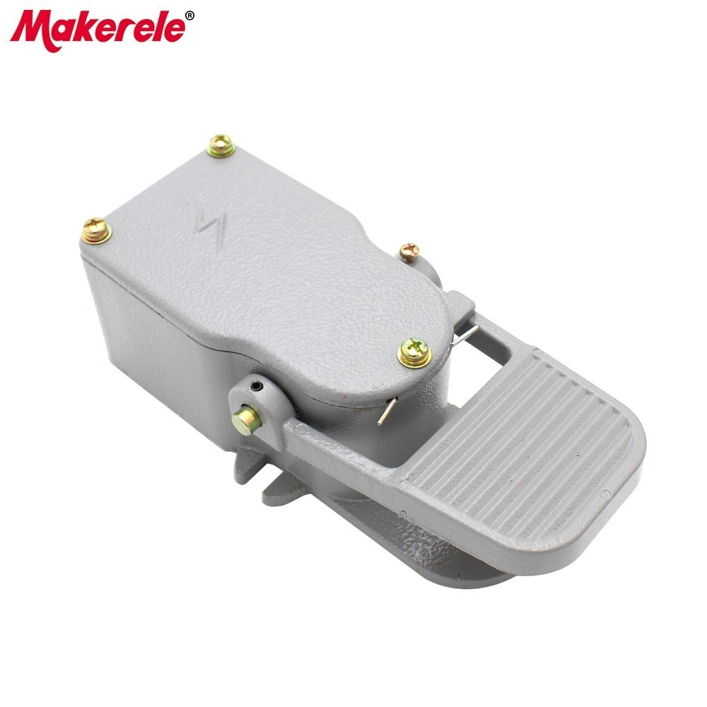 High Quality Foot Switches Sewing Machine Foot Pedal Switch MKLT 5 Electrical Momentary Industrial Factory Direct Free Shipping in Switches from Lights Lighting