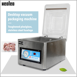 Xeoleo Table Vacuum packing machine Commercial Vacuum food sealer Vacuum sealing machine Food packaging for Nut/Fruit/Meat 220V