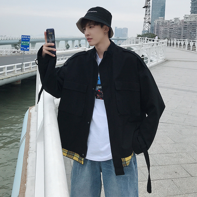 Male pure fashion coat collar men s wool coats in male long hot 2018 hot men