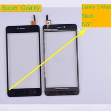 10Pcs/lot For Wiko Lenny 3 Lenny3 Max Touch Screen Panel Sensor Digitizer Front Outer Glass Touchscreen