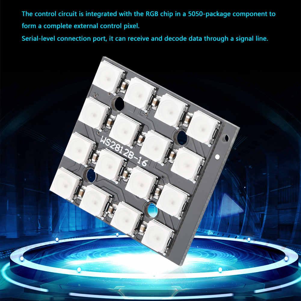 16 Bit Built-In Full-color RGB LED Flessibile di Driver del Pannello Bordo di Sviluppo WS2812B-4 di Alta Qualità