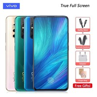 Original vivo X27 Mobile Phone Snapdragon 710 8G RAM 256G ROM 48.0MP Elevating Camera 4000mAh Big Battery Full Screen Smartphone