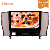 Seicane HD 1080P 9 Android 8.1 GPS Car Radio Stereo For 2010 2014 Toyota old crown left driver hand Head Unit Support DVR RDS