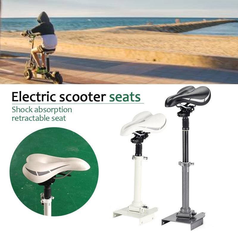 Siège pliable Absorption des chocs siège télescopique poinçonnage gratuit pour Xiaomi Mijia M365 accessoires de planche à roulettes Scooter électrique