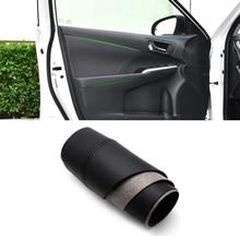For Toyota Camry 2015 2016 2017 4pcs Microfiber Leather Interior Door Panel / Door Armrest Cover Protective Trim