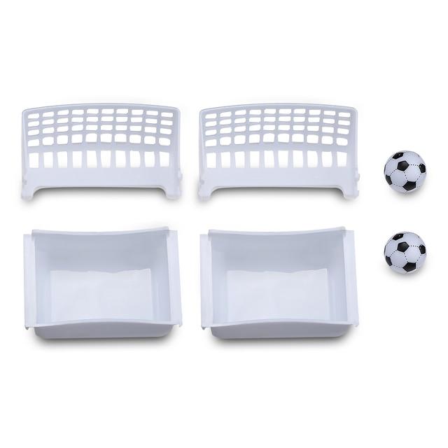 Novel Mini Tabletop Table Soccer Toy Shooting Defending Board Game Football Sport Match Kids Preschool Play Ball Toys 4