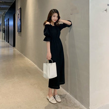 Spring Summer Chiffon Jumpsuit Women Solid Casual Wide Leg Pants Camis Overall Elegant Black Playsuit