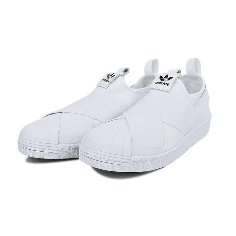 best cheap 154b3 7252d Adidas Superstar Slip Clover Original Women Skateboarding Shoes Breathable  Non-Slip Sneakers #S81340 S81337 S81338