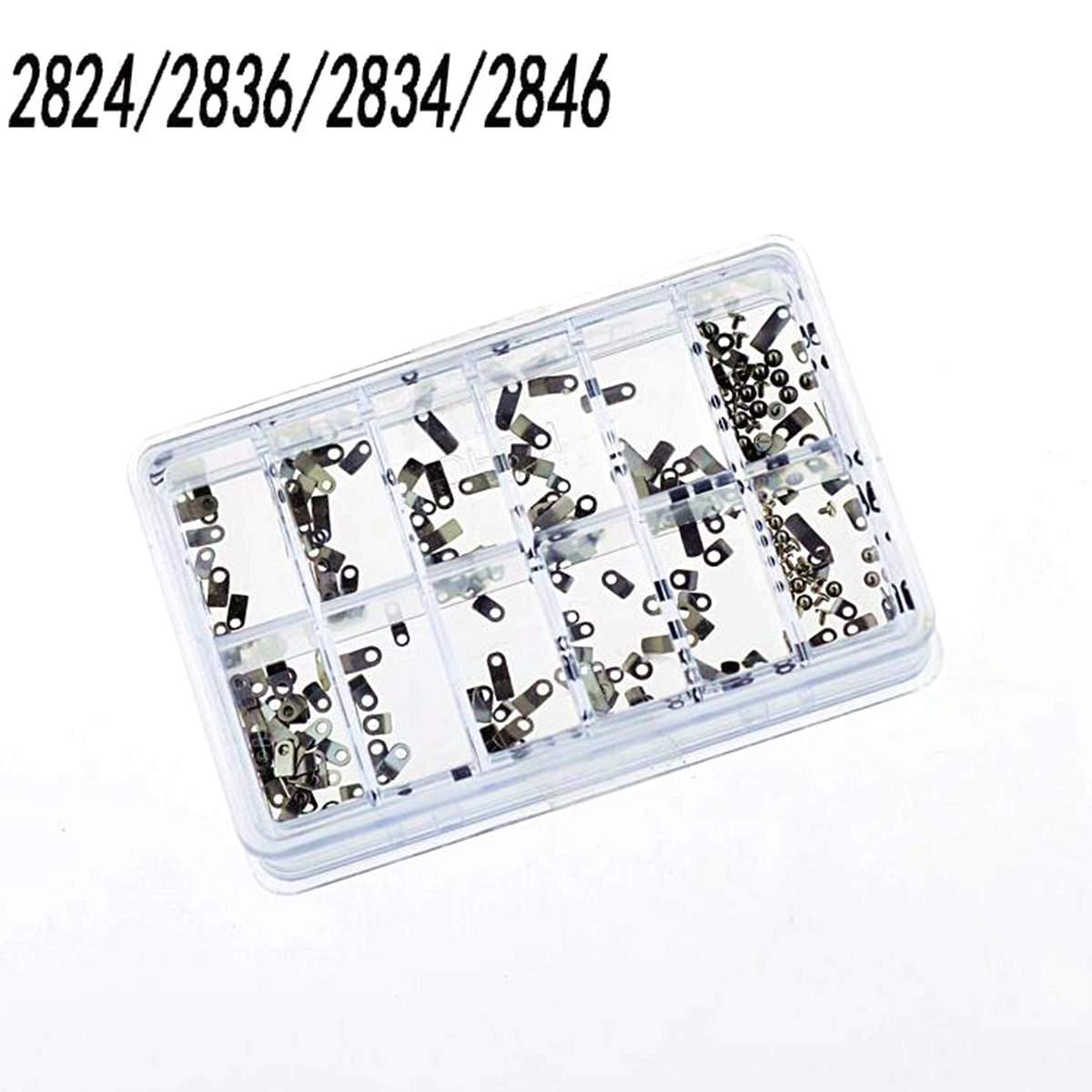 1 Box Uhr Gehäuse Clamp Bewegung Adapter Sicherung Schraube Washer Für Eta 2824 2836 2834 Metall Uhren Reparatur Werkzeuge Zubehör Einfach Und Leicht Zu Handhaben