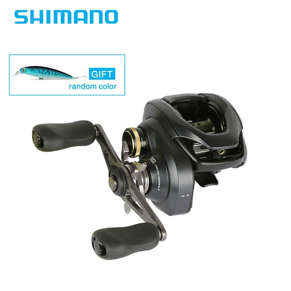 Newest SHIMANO Original CURADO K Low Profile Baitcasting Reel 6 1BB MicroModule Gear Hagane Body Saltwater