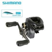 Новейшая SHIMANO оригинальная CURADO K однопрофильная МУЛЬТИПЛИКАТОРНАЯ катушка 6 + 1BB MicroModule gear Hagane Body соленая вода и рыболовные катушка