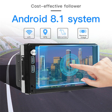 Android 8.1 7inch 2 DIN mp4 mp5 player bluetooth wifi GPS navigation FM Radio Touch Screen 1G 16G Audio Stereo 2 din 7inch car gps navigation touch screen 1g 16g android 8 1 mp5 player bluetooth wifi fm radio dual usb