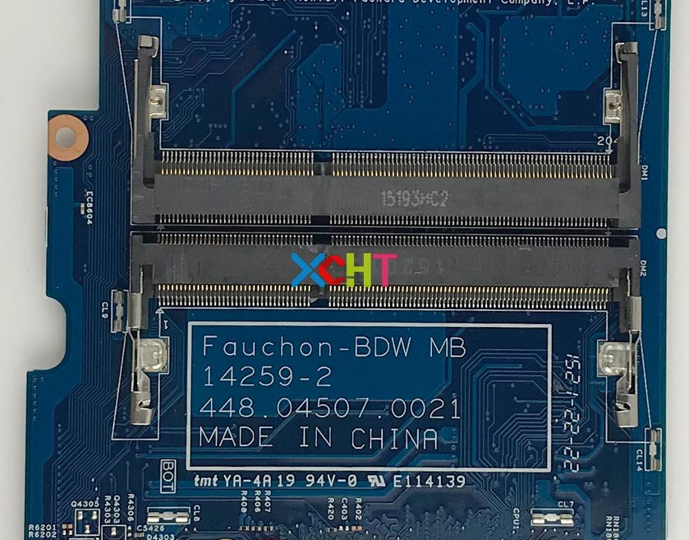 809840 501 809840 001 809840 601 UMA I3 5010U For HP Pavilion X360 Convertible 13 S Series 13T S000 PC Motherboard Tested