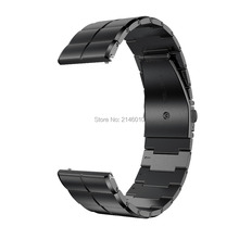 22MM Stainless Steel Strap for Samsung Gear S3/S3 Frontier Classic Metal Wristband Galaxy 46mm Watch Band