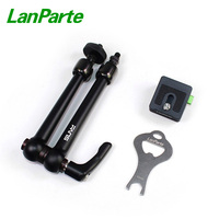 LanParte 10'' Friction Magic Arm monitor quick release articulating arm with 4KG Load Capacity