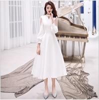 Black Elegant Women Girls Lace Dresses Vintage Appliques Long Evening Prom Party Dress Formal Dress Fast Sash