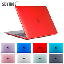 Laptop Cases For MacBook Retina pro13 15 inch A1932 A1502 A1398 A1708 A1989 for apple Notebook case Hard shell Transparent Cases laptop cases for macbook pro 12 inch a1534 a1931 for apple notebook case hard shell metallic paint cases for retina 12pro