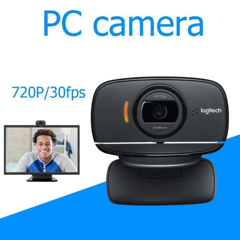 Logitech C525 HD Webcam Portable 360 rotative 720 p appel vidéo caméra Web Autofocus - 2