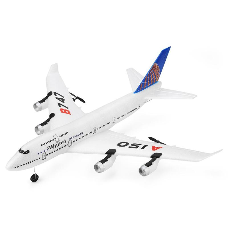 A150 Boeing B747 Aviation Model Three Channel Glider Training Machine Kids Toy Aircraft Model Outdoor DIY