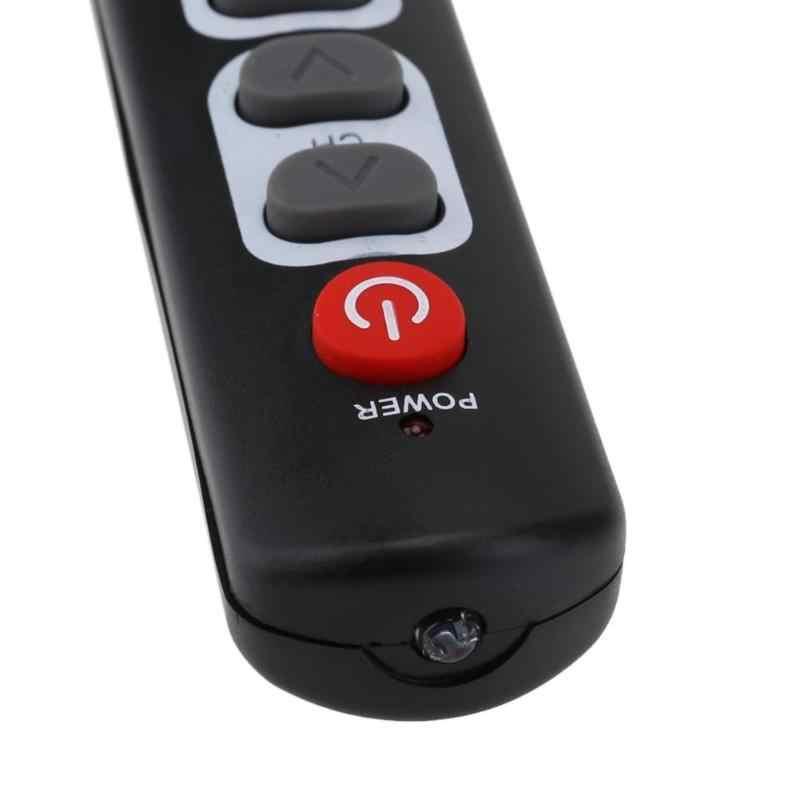 Новый универсальный 6 с двумя кнопками пульт дистанционного Управление обучения с копированием кода двери от инфракрасный ИК-пульт дистанционного управления Управление для ТВ STB DVD DVB HIFI усилитель