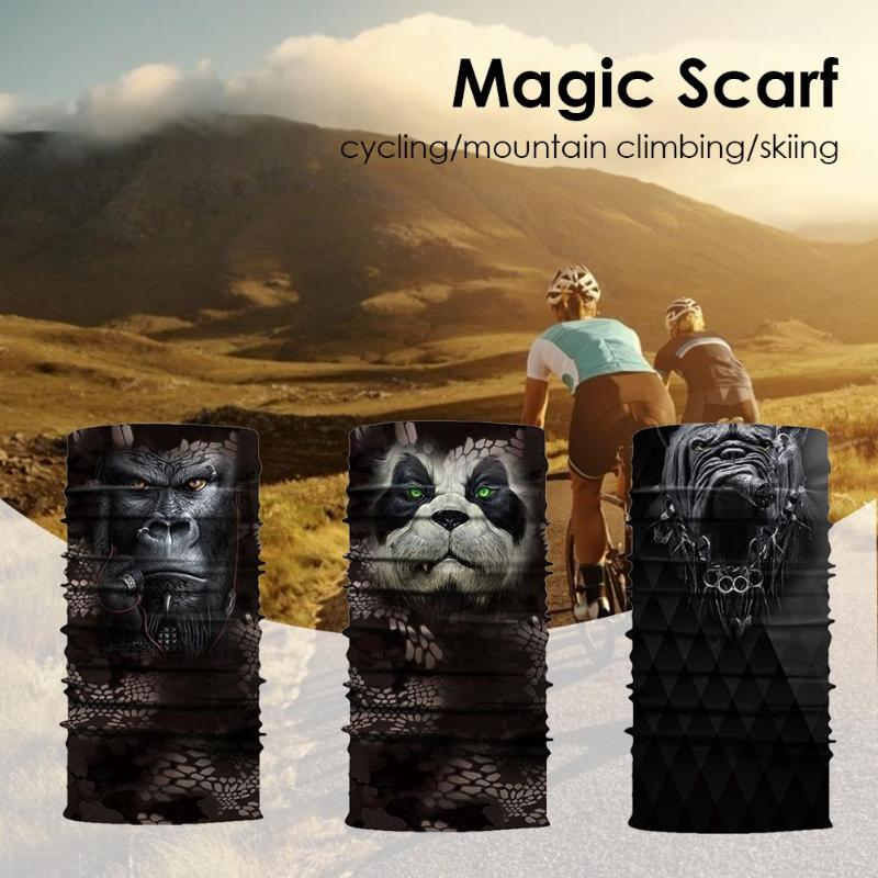 New Outdoor Sports Windproof Breathable Cycling Bike Bicycle Riding Magic Scarf Headband Mask Neck Warmer With Polyester Fiber Elegant And Sturdy Package Pottery & Glass