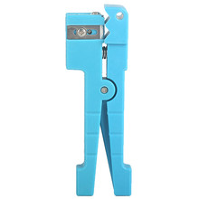 45-163 Pliers Cutting Tools Wire Stripper Lightweight Multifunctional Coaxial Cable Fiber Optic Slitter Manual(China)