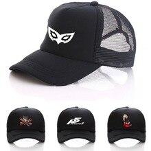 Game Persona 5 hat Printing Baseball Cap Cosplay Hip Hop Unisex Adjustable  Summer Snapback Men s DIY 3623dcb3a48b