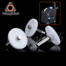 Trianglelab BMG EXTRUDER SHAFT ASSEMBLY GEAR Single and Dualdirect extruders Including setscrew for primary 1.75/5.0 drivgear(China)