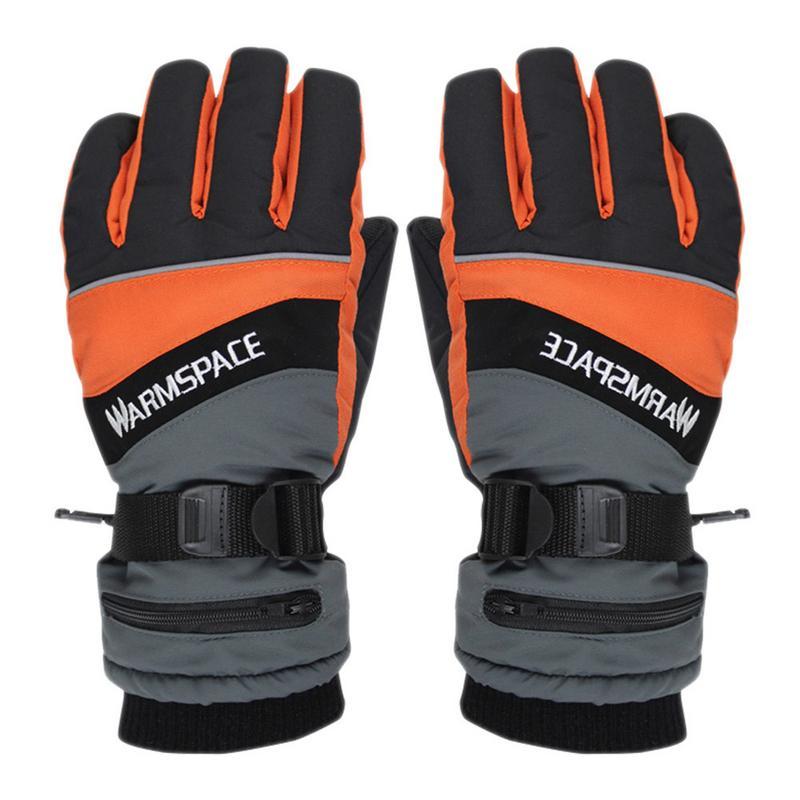 Hiver USB chauffe-main électrique thermique gants batterie Rechargeable gants chauffants cyclisme moto vélo Ski gants unisexe