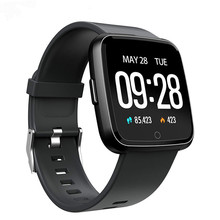 Y7 Смарт-часы IP67 Водонепроницаемый Фитнес трекер монитор сердечного ритма крови Давление Для женщин мужские часы, умные часы для Android IOS