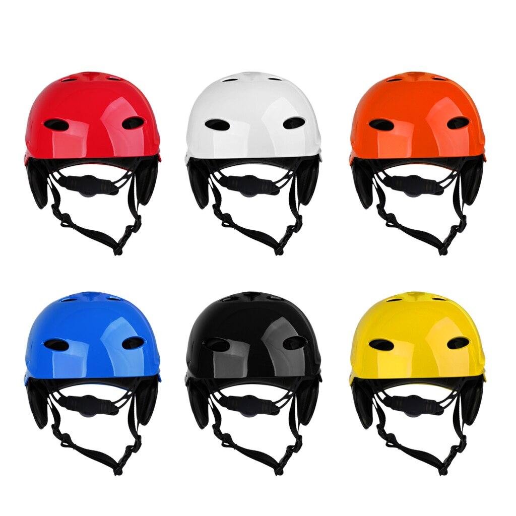 Perfeclan легкий вентилируемый водный спортивный шлем безопасности каяк каноэ лодка серфинга жесткий колпачок с амбушюрами защитный CE сертифицированный