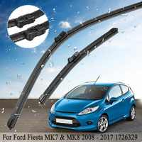 """2 pièces voiture avant pare-brise fenêtre essuie-glace ensemble 1726329 pour Ford pour Fiesta MK7 & MK8 2008-2017 25 """"14"""""""